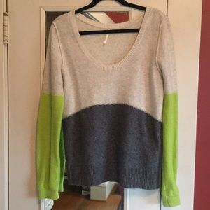 Free people cashmere feel sweater